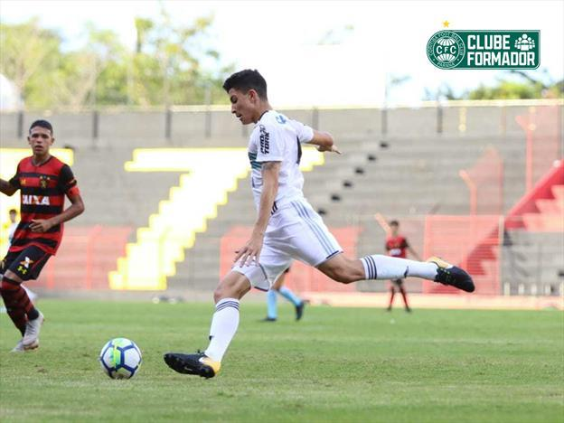 Coxa classificado na Copa do Brasil Sub-17