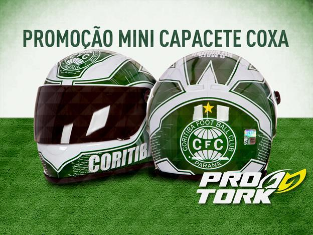 Mini capacete do Coritiba